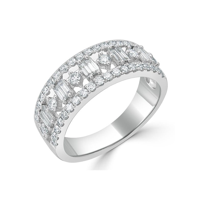 Sabrina Designs 18K White Gold Diamond Ring