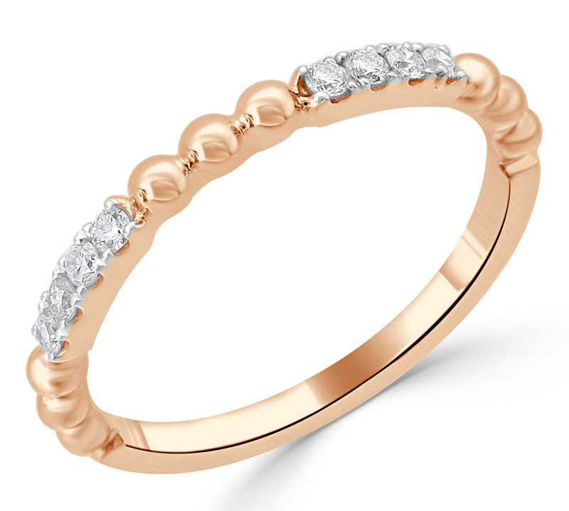 Sabrina Designs 18K Rose Gold Diamond Stackable Ring