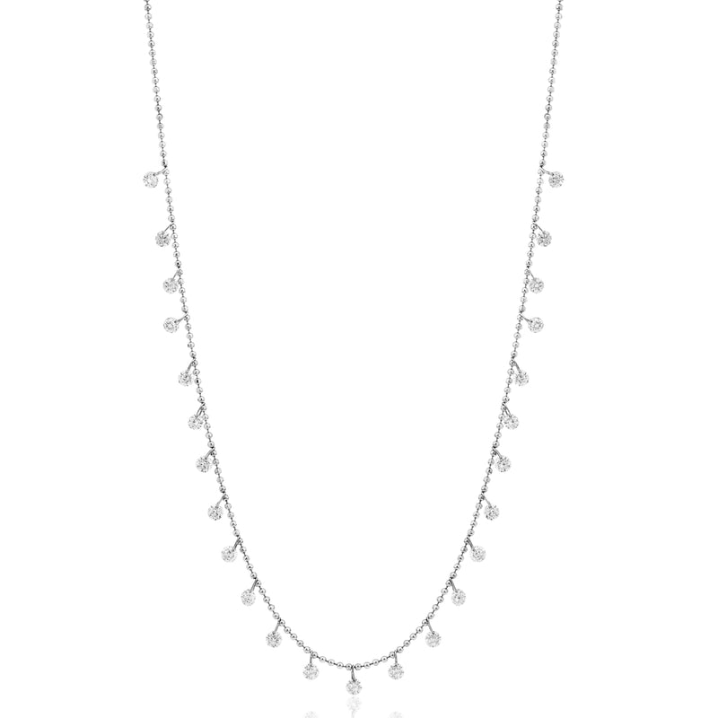 Dashing Diamonds 24 Diamond Necklace