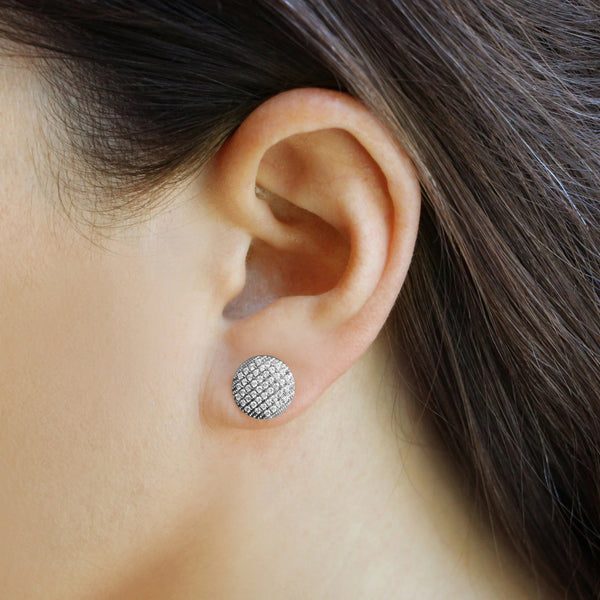 Lauren Joy Large Disc Studs