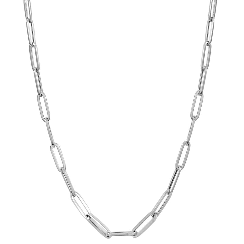 Paperclip Link Chain - Medium