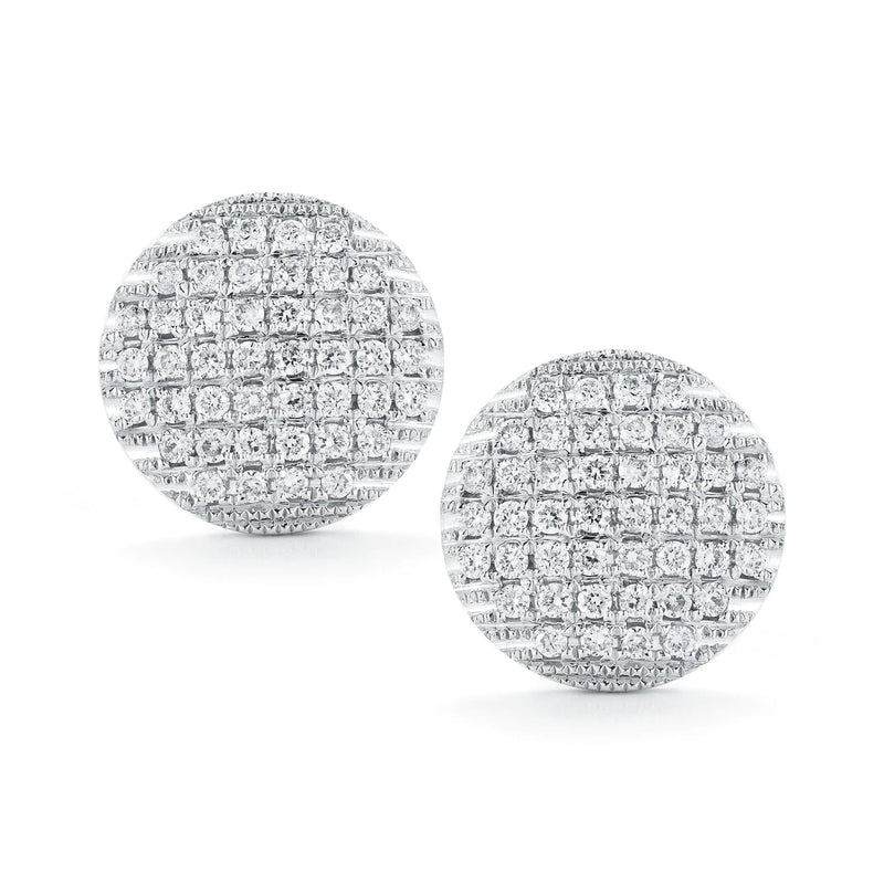 Dana Rebecca Designs Lauren Joy Large Disc Studs