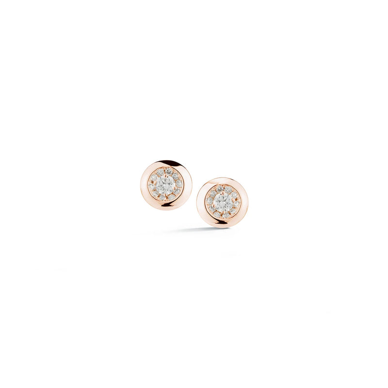 Dana Rebecca Designs Lauren Joy Bezel Halo Diamond Studs