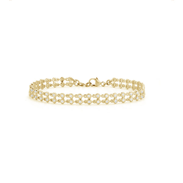 Dana Rebecca Designs Lulu Jack Double Row Bracelet