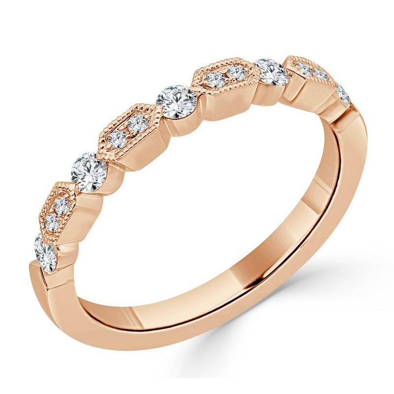Sabrina Designs 14K Rose Gold Diamond Stackable Ring
