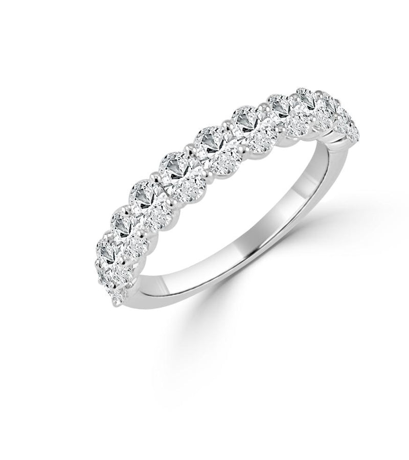 Sabrina Designs 14K White Gold Oval Cut Ring