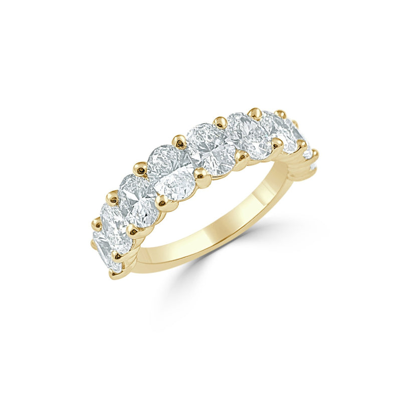 Sabrina Designs 14k Yellow Gold Oval Diamond Band