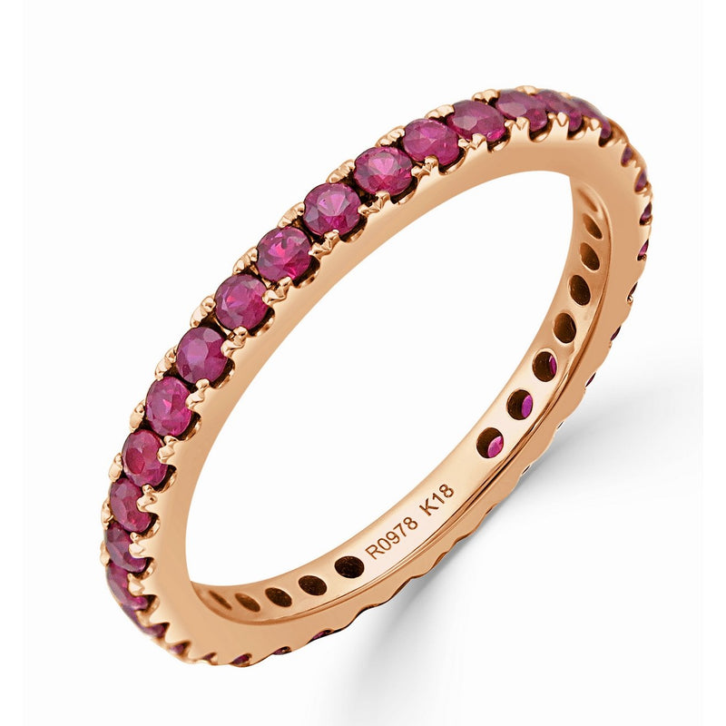 Sabrina Designs 18K Rose Gold Ruby Ring