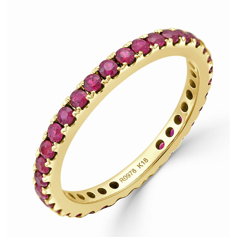 Sabrina Designs 18K Yellow Gold Ruby Ring