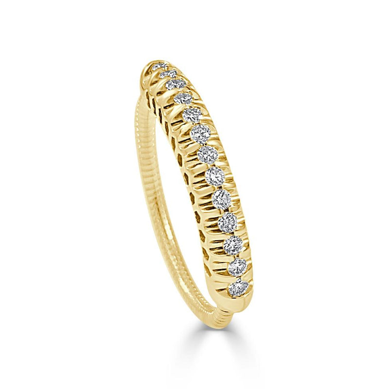 14K Gold Diamond Ring - Diamond Weight:ë_D0.25