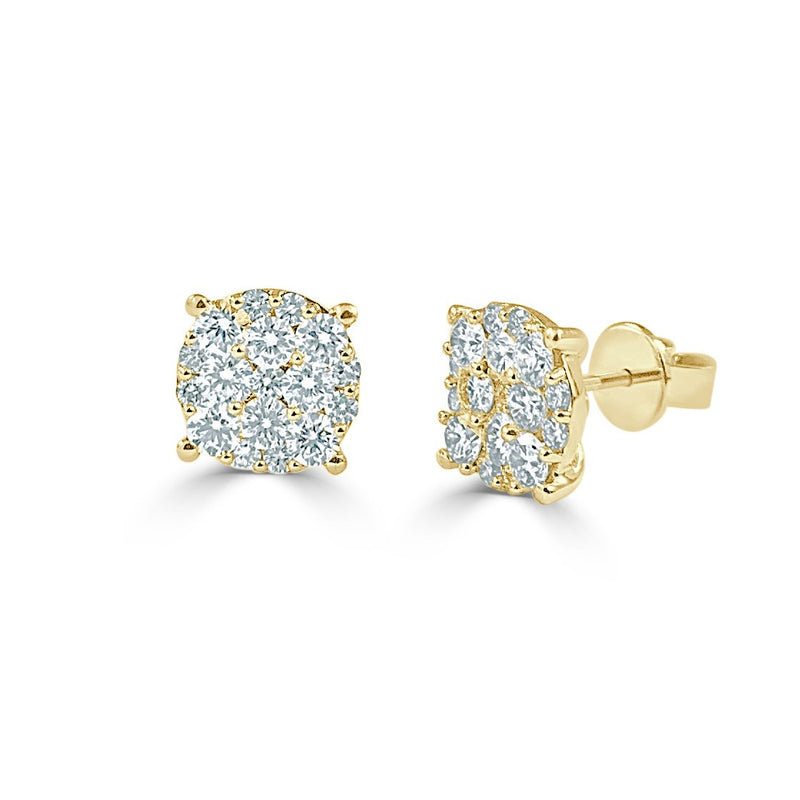 Sabrina Designs 18k Yellow Gold Diamond Studs