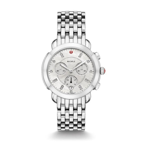 Sidney Stainless-Steel Diamond Dial Watch