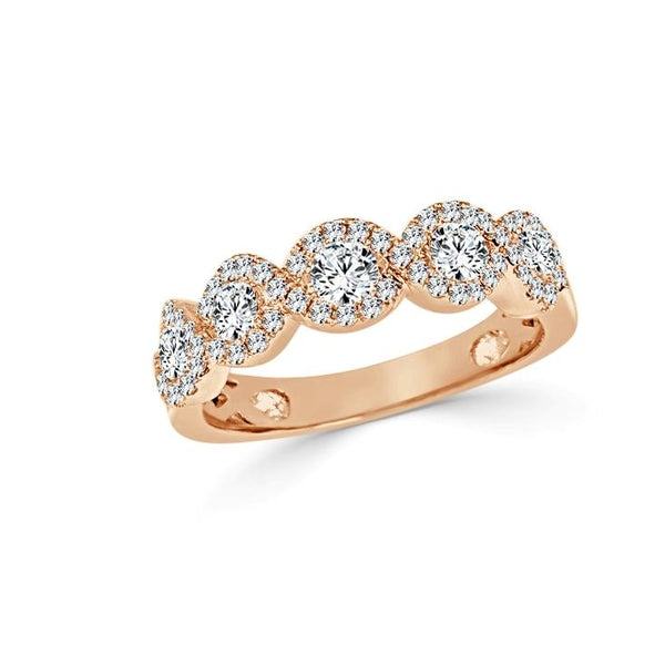 Sabrina Designs 14K Rose  Gold Diamond Ring