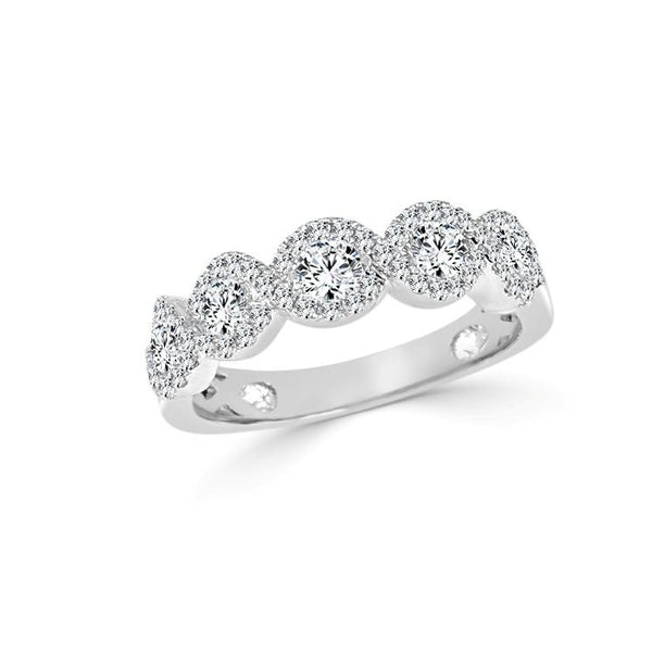 Sabrina Designs 14K White Gold Diamond Ring