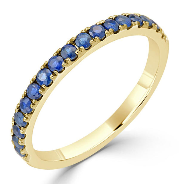 18K Gold - Blue Sapphire Ring