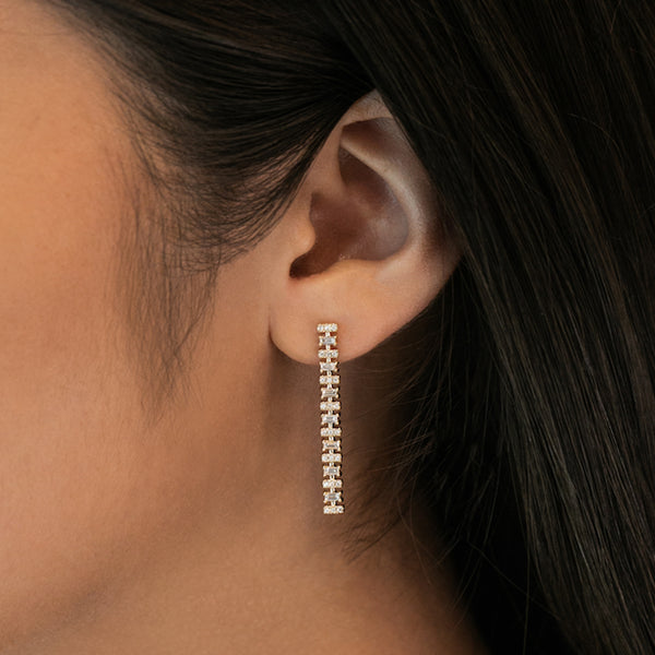 Dana Rebecca Sadie Pearl Drop Earrings