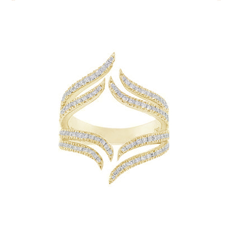 Dana Rebecca Designs Sarah Leah Wave Ring