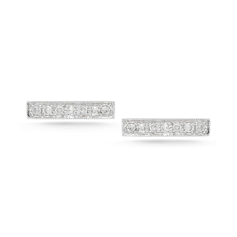 Dana Rebecca Designs Sylvie Rose Bar Stud Earrings