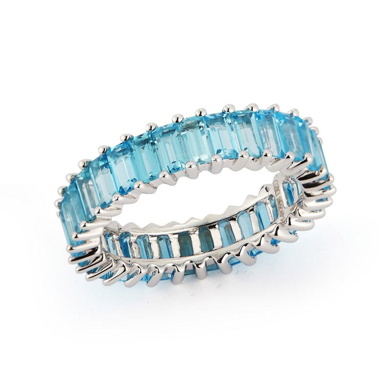Dana Rebecca Designs Kristyn Kylie Blue Topaz Ring