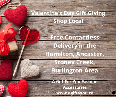 Shop local this valentine's day.  Free Contactless Delivery in Hamilton, Ancaster, Stoney Creek, and Burlington from A Gift For You www.agift4you.ca