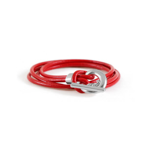 Caracol Red Flame Bracelet