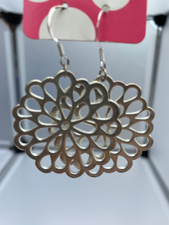 Circular Filigree cut out on a hook