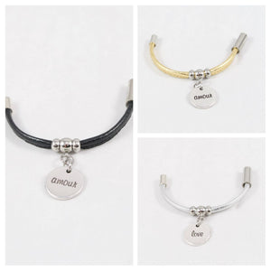 "Elitalia Bracelet Collection- ""Florence"" Centre Charm by Design Fixation"