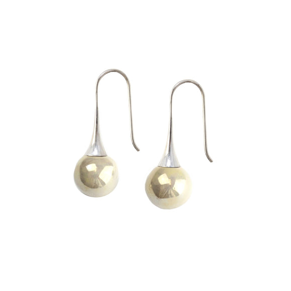 Pierre Gevaux earrings are handcrafted in france and made of ceramic