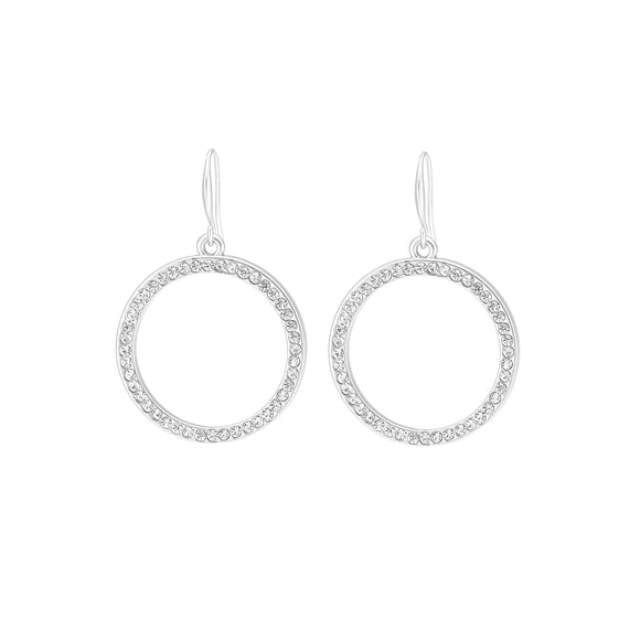 Merx fashion jewellery earrings with crystal stones