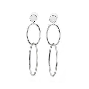 Merx Double Hoop Earrings