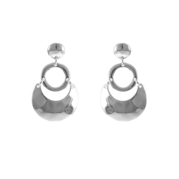 Merx tortoise hoop fashion fashion earrings