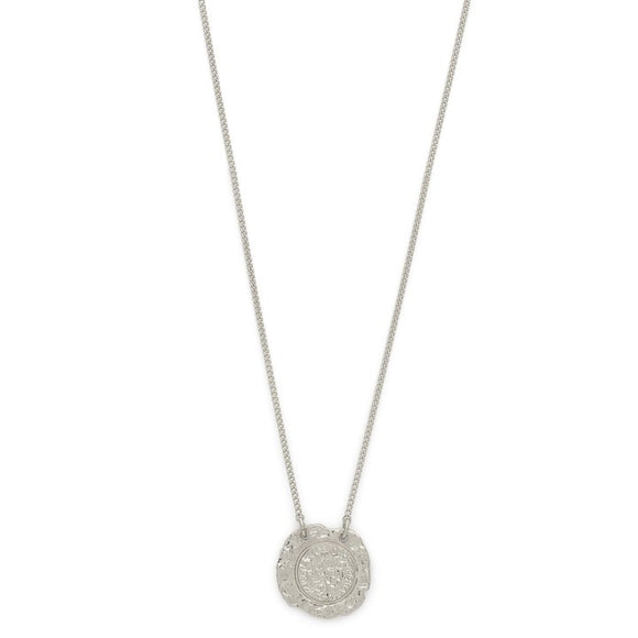 pilgrim jewellery marley silver necklace