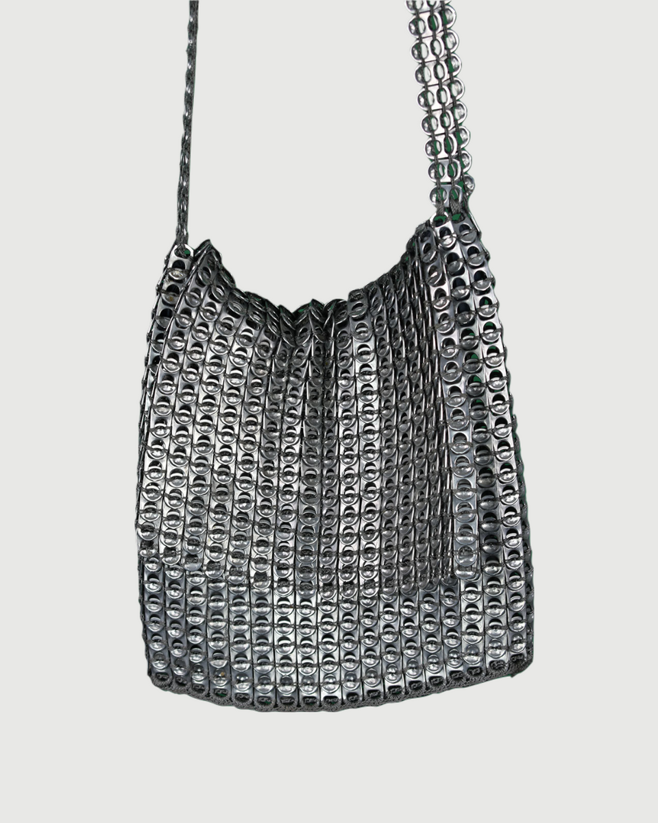 Silver Chainmail Shoulder Bag