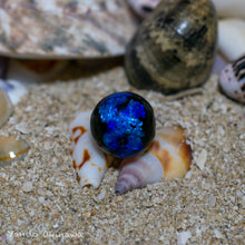 画像をギャラリービューアに読み込む, Deep Blue Okinawa Japan Firefly Glass Beads 8mm 10mm 12mm 14mm 15mm 18mm 20mm - Yando