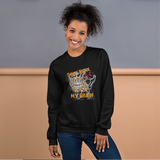 Don't Funk My Brain | Soft and Comfortable Sweatshirt | Unisex