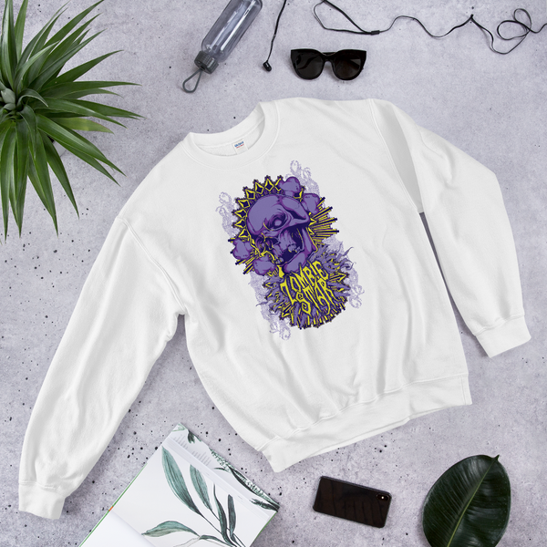 Zombie Star | Soft and Comfortable Sweatshirt | Unisex