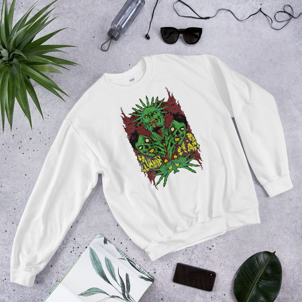 Zombie Star 2 | Soft and Comfortable Sweatshirt | Unisex