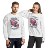 College Rugby League | Soft and Comfortable Sweatshirt | Unisex