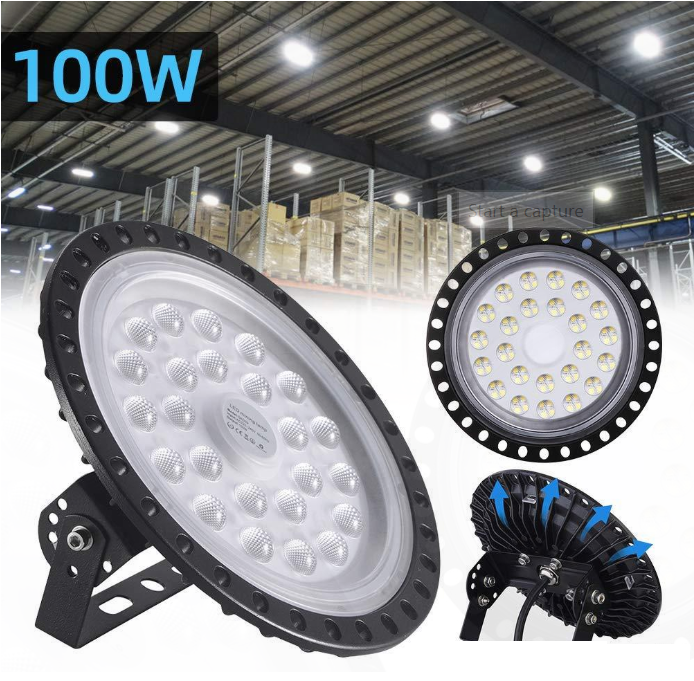 100W LED Commercial Lighting for Garage Factory Workshop Gym