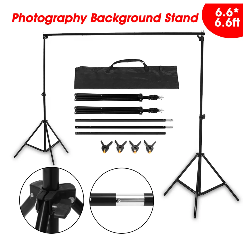 Pixtruss™ Aluminum Alloy Portable Photography Background Stand