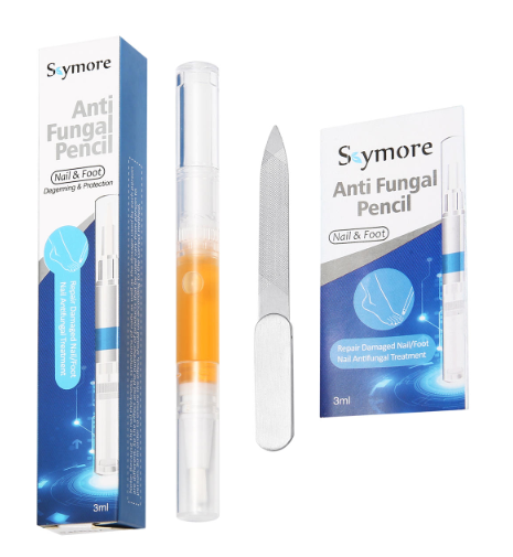 Skymore Toenail and Fingernail Fungus Nail Gel Solution with Nail File