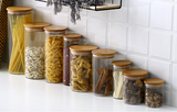 Glass Jars Set for Pantry