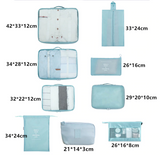 8 pieces Travel Bags Set