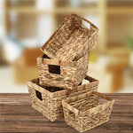 Woven organization Storage Baskets