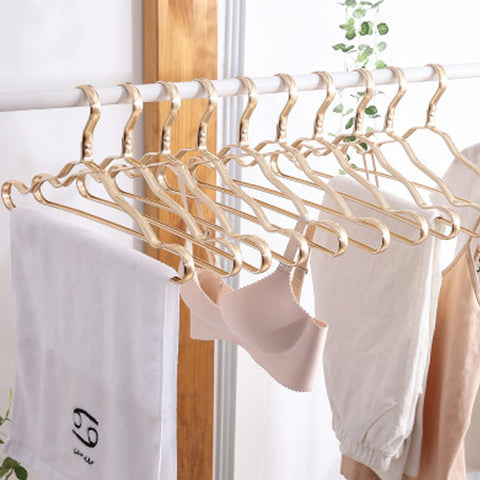 10Pcs Aluminium Clothes Hanger