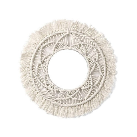 Bohemian Cotton Rope Wall Art