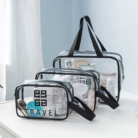 Transparent Trave Cosmetic Bag