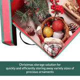Christmas Ornament Storage Box with Lid