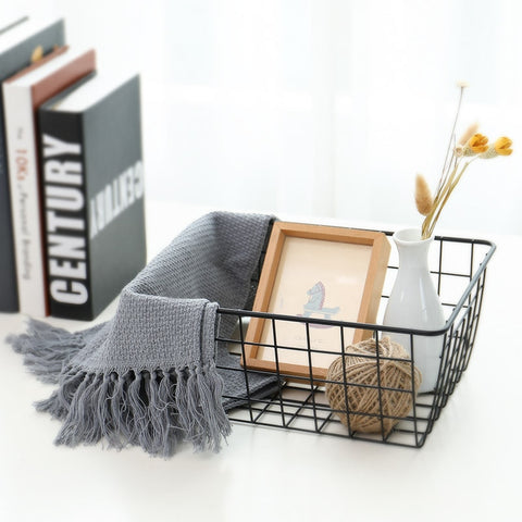 Iron Art Storage Basket
