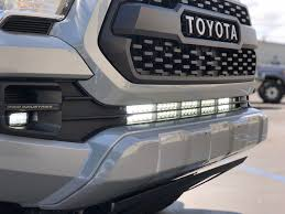 "2016+ TOYOTA TACOMA CALI-RAISED 32"" LOWER BUMPER HIDDEN LED LIGHT BAR SYSTEM - BARE Outfitters Co."